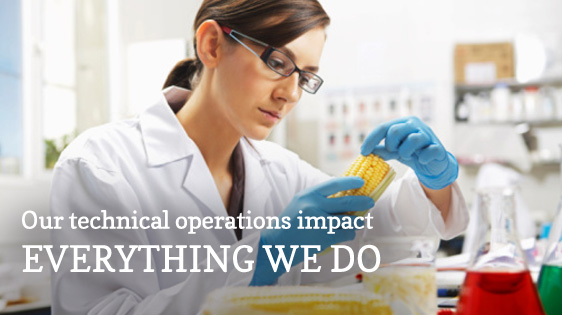 Technical Services - Our technical operations impact everything we do